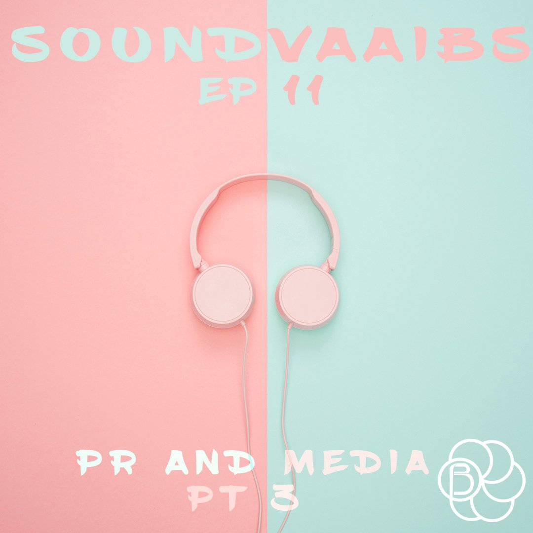 The latest episode of SOUNDVAAIBS is out now!!What is PR & Media part III ?Do we need to have a media strategy?  How do we achieve this?Tune in and find out. #BlendedPodcasts #SOUNDVAAIBS
