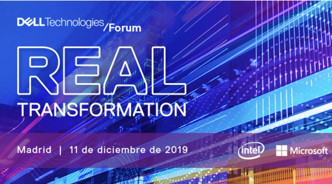 ¡No te pierdas la gran cita tecnológica del año! Dell Technologies Forum, todo en...