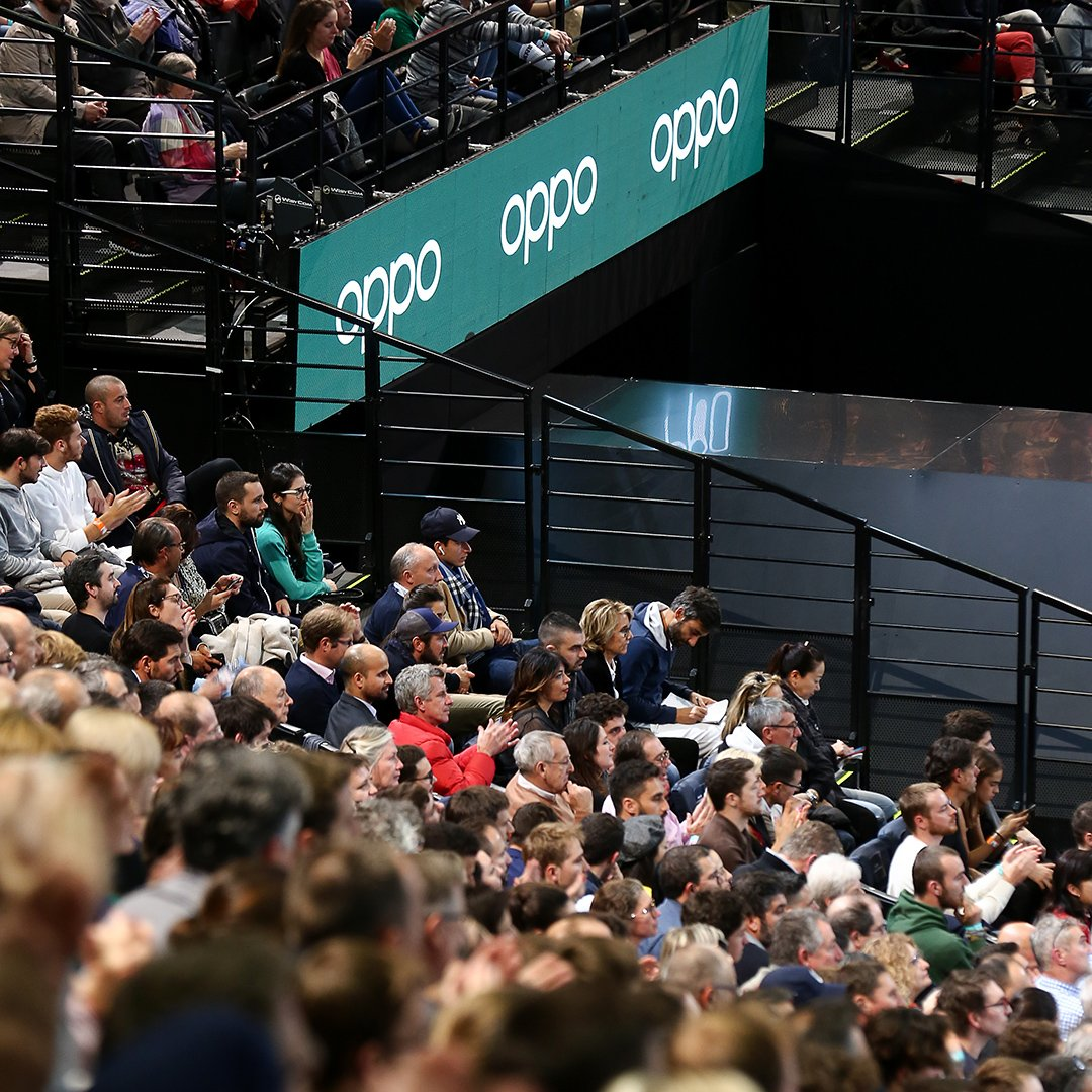 Overwatching the action at the #RolexParisMasters with @oppomobilefr   #OPPOReno2 #ZoomIntoMasters https://t.co/wXogjvtFGU
