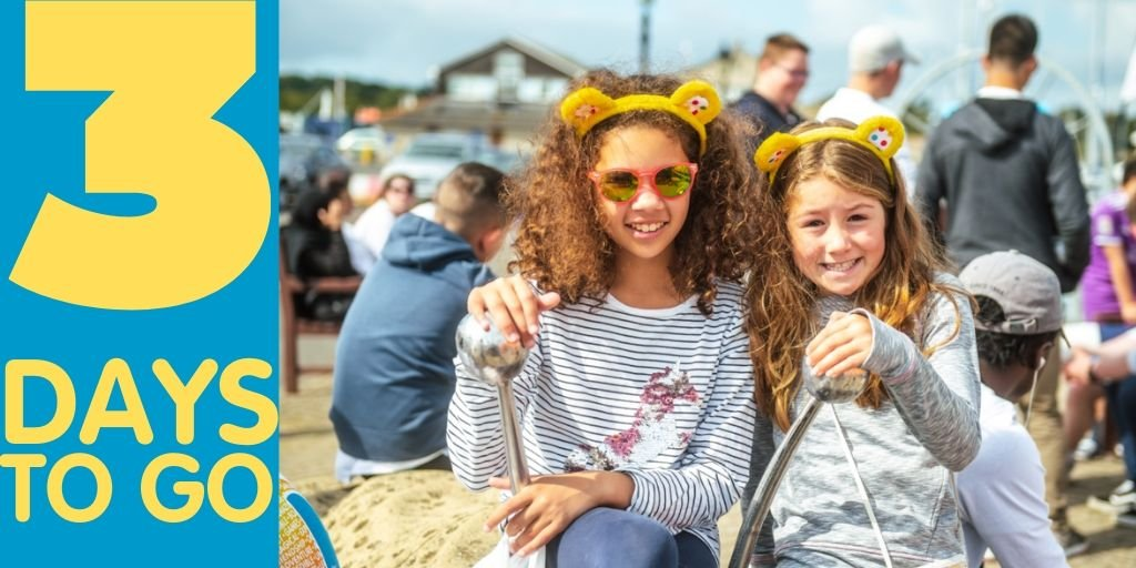 Have you got your ears yet? Only THREE DAYS to go 🎉 We are getting so excited to see the Trust feature on Blue Peter as part of the @BBCCiN 'Spectacular' at 5:30pm this Friday 15th November💛