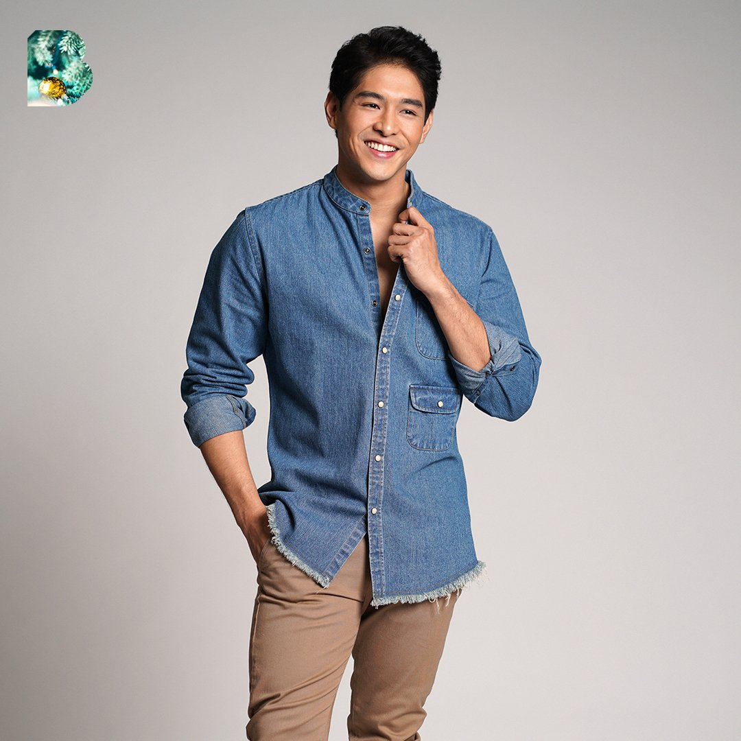 Holidays ain't complete without a denim in your fit ✌️ @imJericGonzales #BENCHHoliday2019 #WithLove