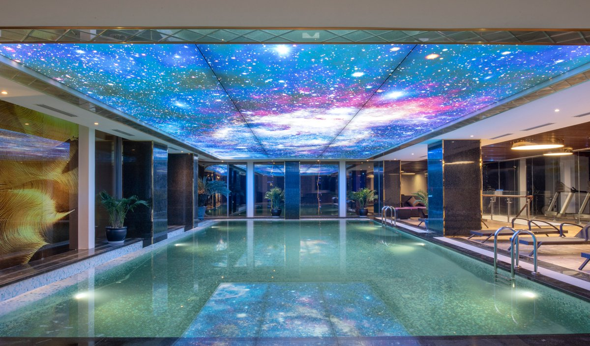 Keep swimming event when the sun does not shine!  Wyndham Garden Hanoi bring you an indoor pool with salt water that promises to keep you on your favorite sport in all season.  #Wyndham #Wyndhamgardenhanoi #Fitnesscentre #Pool #Swimming #HealthyLife #Stayhealthy #Staybalance pic.twitter.com/fGHajaRz9j