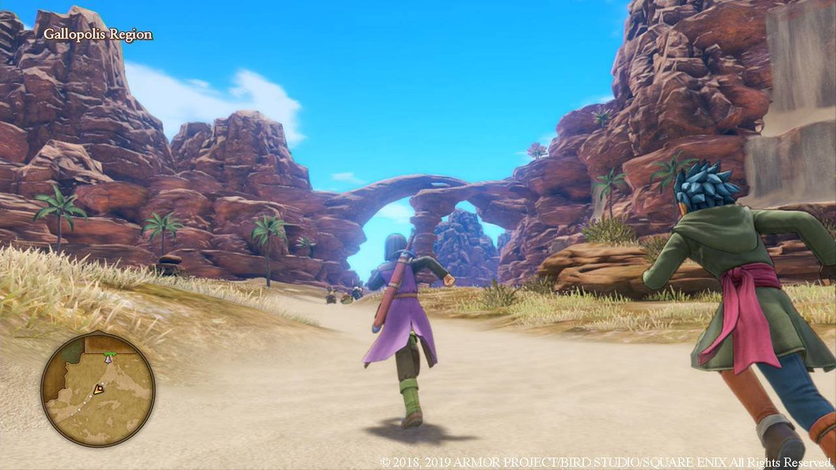 Dragon Quest XI on Switch: - 100+ hours worth of content -700+ monsters all with tons of unique and charming animations - great story Pokemon: - removing half of the pokemon for better animations - mediocre graphics - lying to customers #gamefreaklied