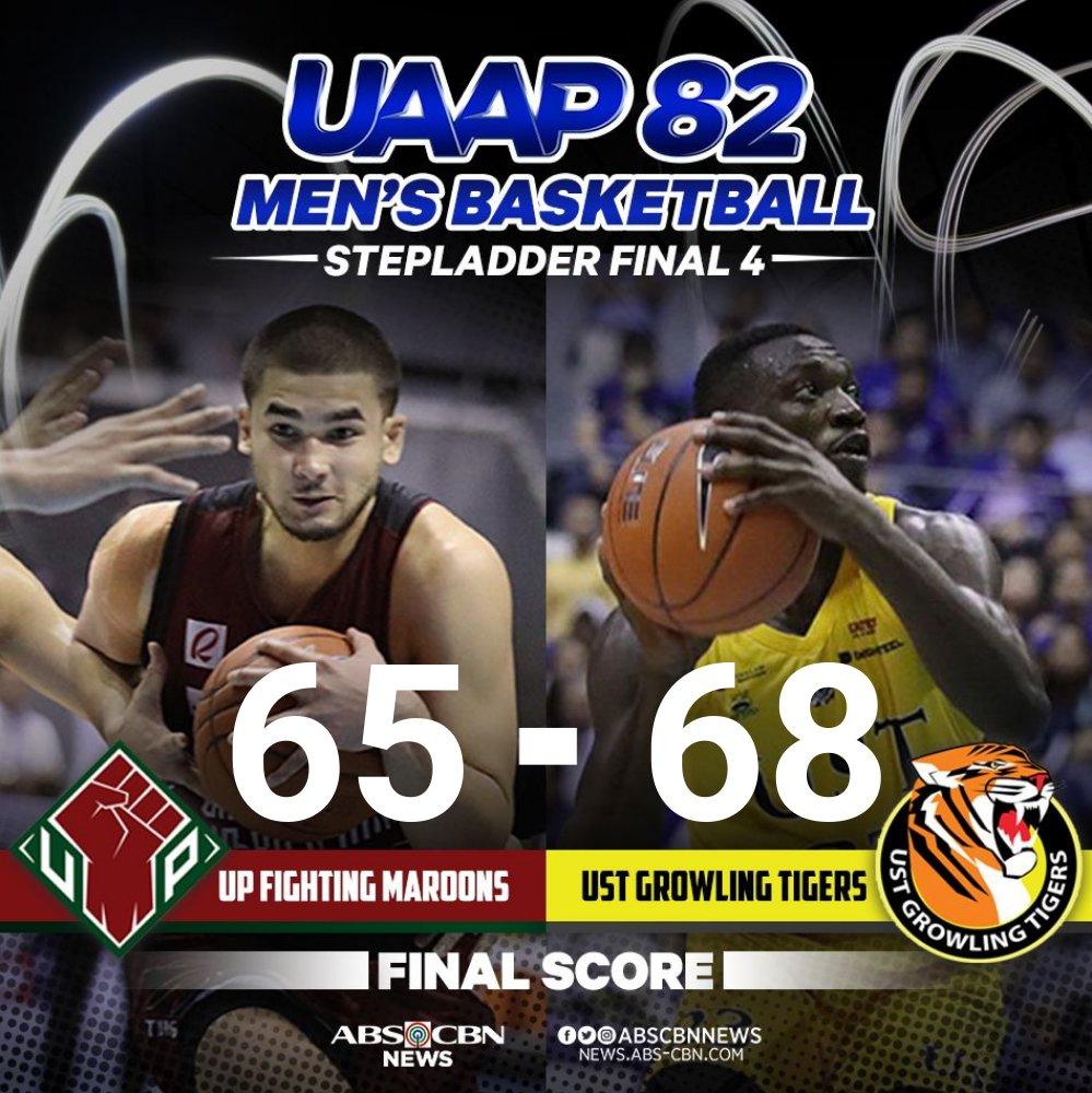 @ABSCBNNews's photo on #uaapseason82