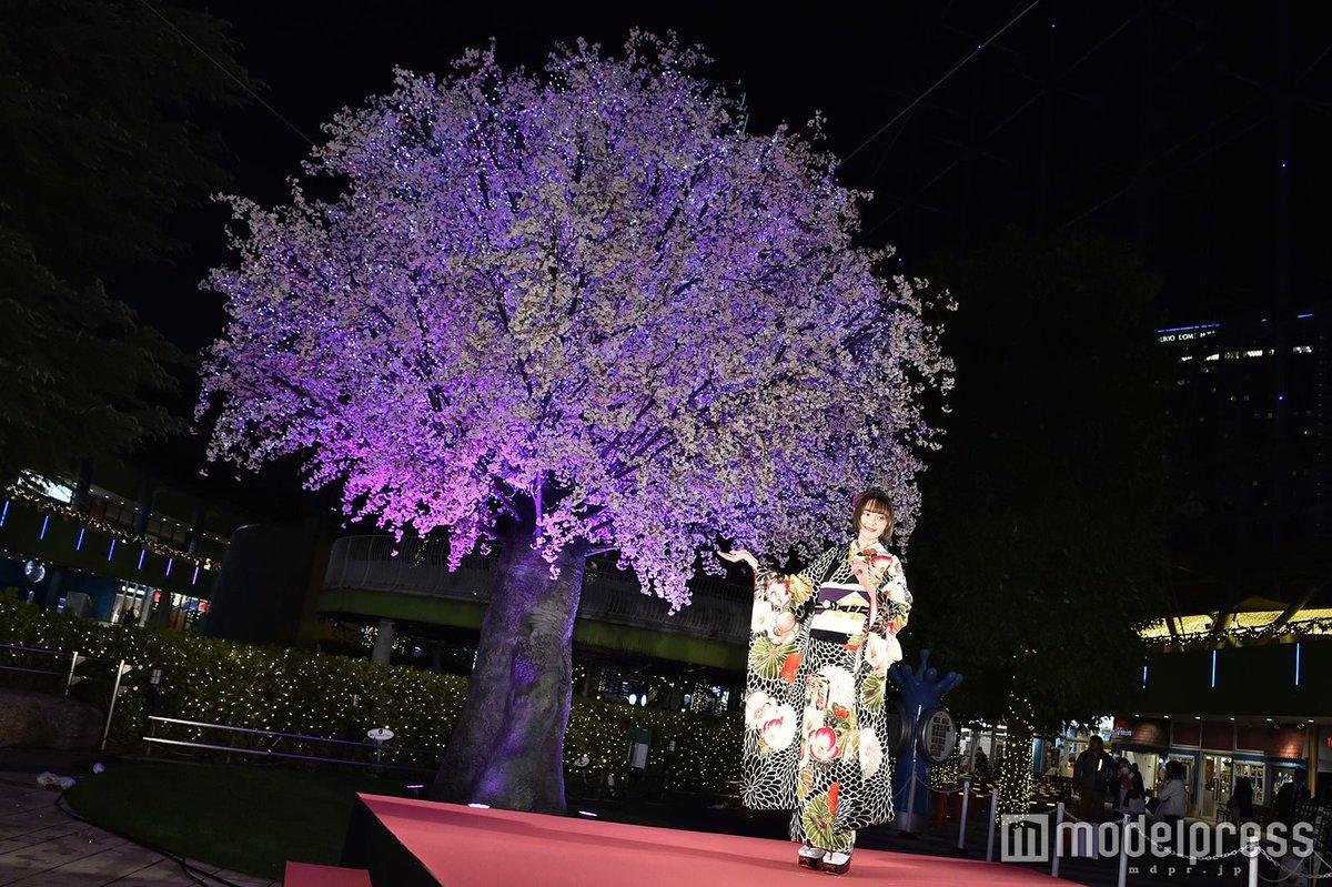 @tina_tamashiro 【写真追加💘】玉城ティナ、初の点灯式に艶やかな着物姿で登場💫✨クリスマスの予定&イルミネーションの思い出を語る🎄▼フォトギャラリー