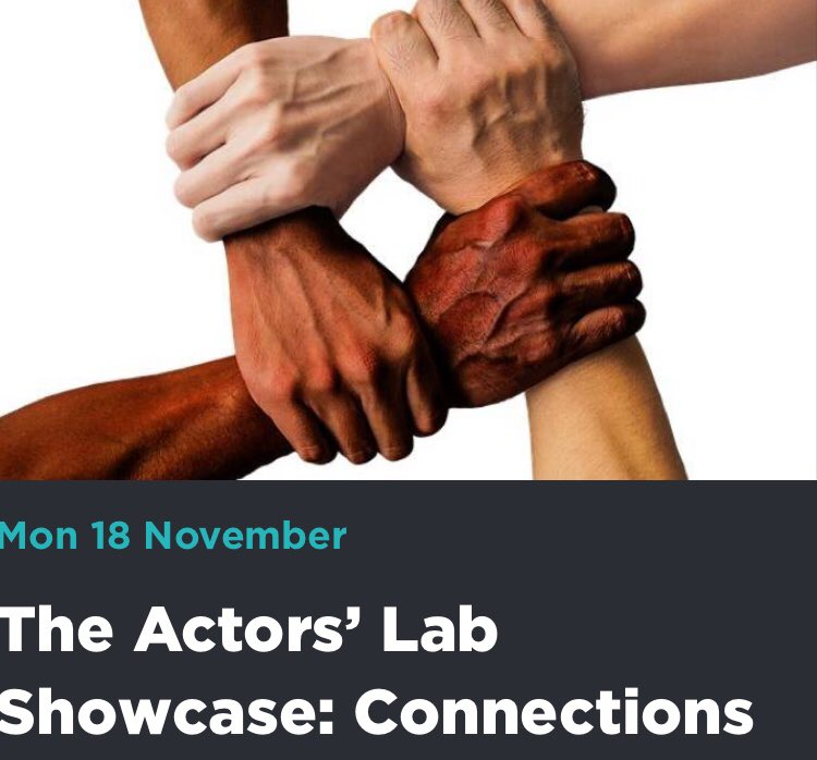 CONNECTIONS @The_Lowry Monday Nov 18th 5.15 & 7.30 pm thelowry.com/whats-on/the-a… #theatre #support