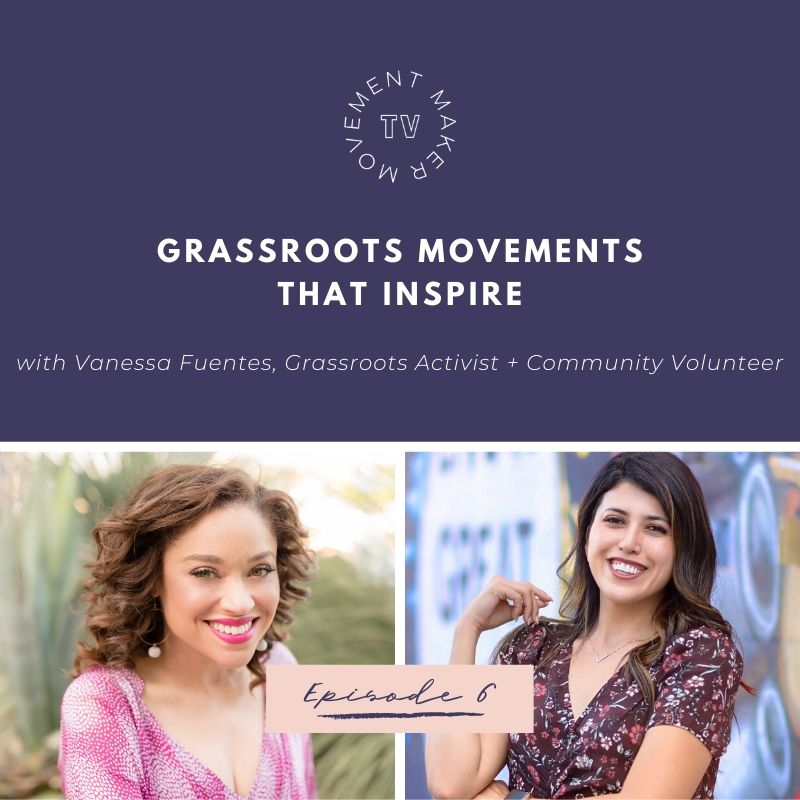 A movement does happen alone, it takes a grassroots army to carry the message.  Vanessa Fuentes joins me for this month's #MovementMakerTV on what it takes to build a grassroots movement that inspires!  https://youtu.be/W3Y7Ygv3LoM   #movementmakertv #inspiration #advocacy #policypic.twitter.com/ntkWE6C0pO