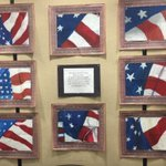 Image for the Tweet beginning: These beautiful flag drawings by