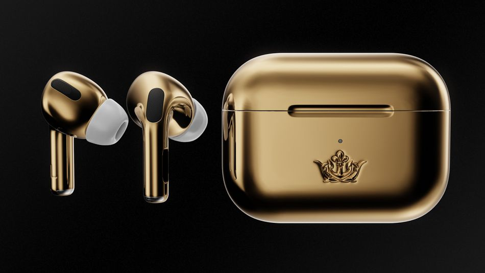 AirPods Pro covered in 18-karat gold will *only* cost you $67,000  https:// trib.al/5lzcqqA    <br>http://pic.twitter.com/cGDewQwrAi