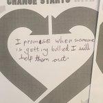 Image for the Tweet beginning: #vgmspshe #AntiBullingWeek #ChangeStartsWithUS Pledges from