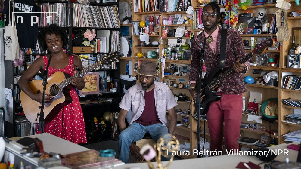 Fingerpicking was the entry to guitar for Sunny War (@sunnywar). Watch her set at the #TinyDesk. n.pr/33HGez6