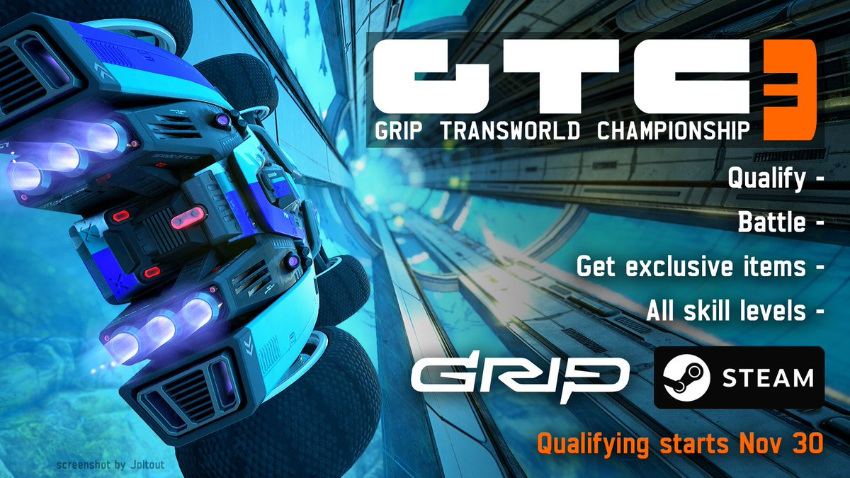 PC Players! Do you like exclusive items? Want to prove your worth on the racetrack? 🏁There's a GRIP Transworld Championship brewing, and you're invited 😉Jump on our Discord for more info: https://discord.gg/grip
