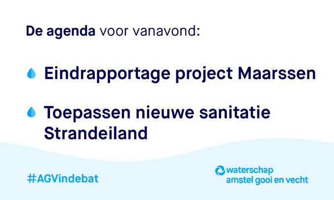 🎥 Vanaf 19:30 uur is onze commissievergadering #AGVindebat live te volgen via  👉  https://t.co/LEeQONZMFy   ℹ Project #Maarssen  👉  https://t.co/cAjVZYbOj3 ℹ #Strandeiland  👉  https://t.co/oCBOBNqr2g