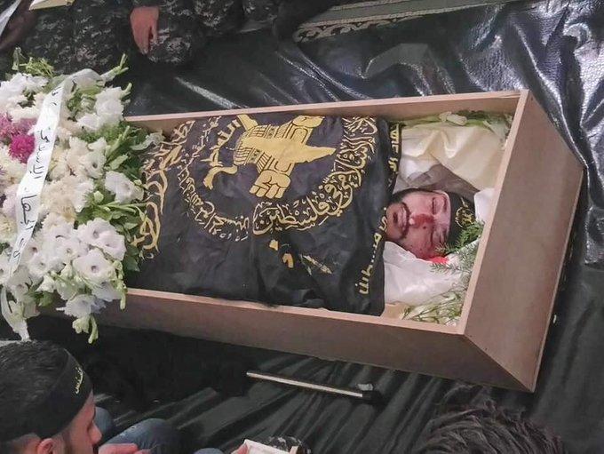 تشييع جثمان الشهيد معاذ أكرم العجوري #غزة_تقاوم