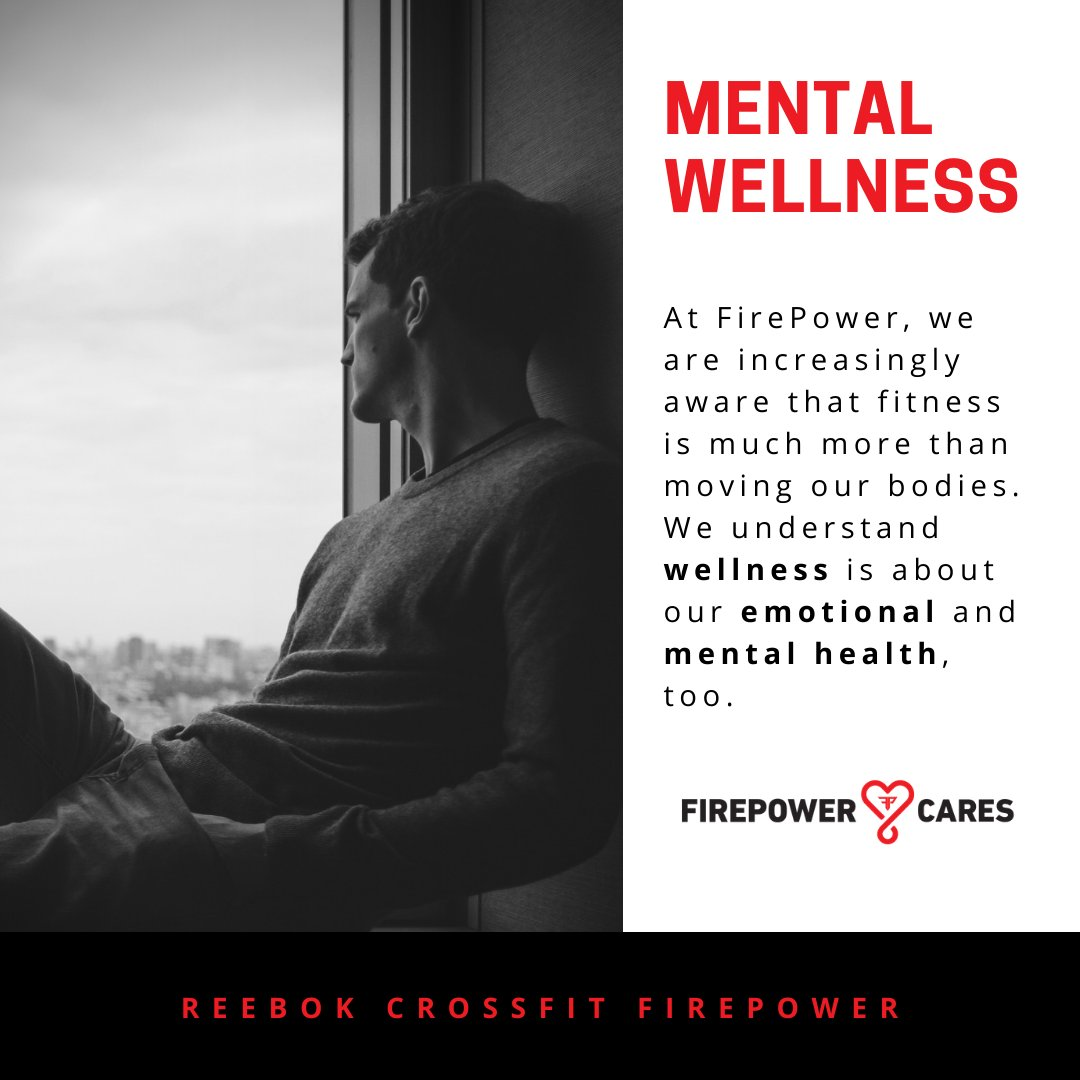 𝙁𝙞𝙧𝙚𝙋𝙤𝙬𝙚𝙧 𝘾𝙖𝙧𝙚𝙨 is our special way to share with you a resource of care and listening to the hurdles, challenges, and pressures of life that hold you back from greatness on and off the training floor.   #mentalwellness  #teamfirepower  #wellness  #firepowercares