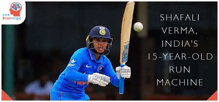 15-year-old #ShafaliVerma became the youngest #IndianCricketer to score a half-century in T20, her 49 Ball 73 in the 1st T20 lnt'l against West Indies surpassing @sachin_rt 30-year-old record#Brainnrgic #Cricket #T20 #Indian #SachinTendulkar #ShaifaliVerma #Record #INDWvSAW
