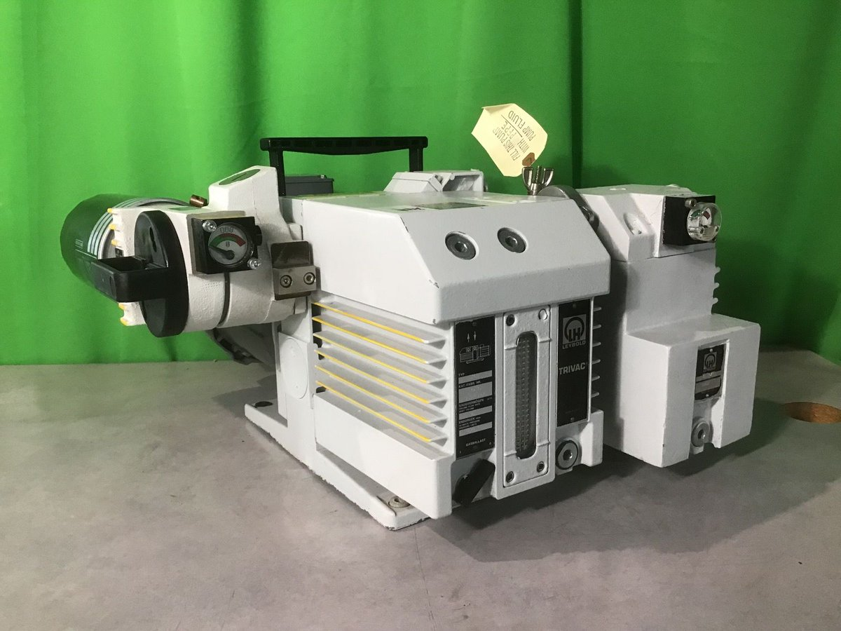 Leybold D16B Fomblin Prepped Vacuum Pump with CFS & AFS Filters  $1,488.00  For more info:  https://proactivemarketplace.org/leybold-d16b-fomblin-prepped-vacuum-pump-with-cfs-afs-filters.html  …  #leybold  #fomblin  #prepped  #vacuum  #pump  #CFS  #AFS  #filters  #buy  #item  #product  #laboratory  #social  #quality  #online  #shopping  #usa  #ma