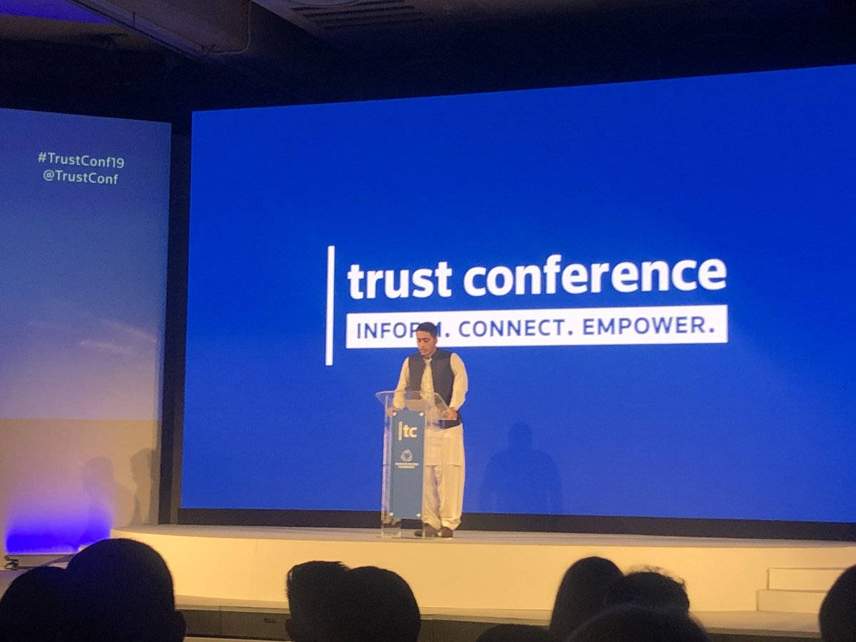 'I decided I will make sure that every child can go to school' survivor, activist & young person @Ahmadnawazaps shares his experiences & how supporting education makes sure no child or young person is left behind! #TrustConf19 @trustconf #childparticipation #nochildlabour
