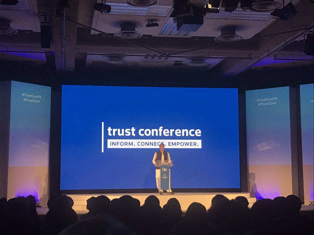 . @Ahmadnawazaps inspirational speech from Ahmad - no child in this world should suffer and be deprived of their fundamental right to learn! #education is a fundamental human right #TrustConf19