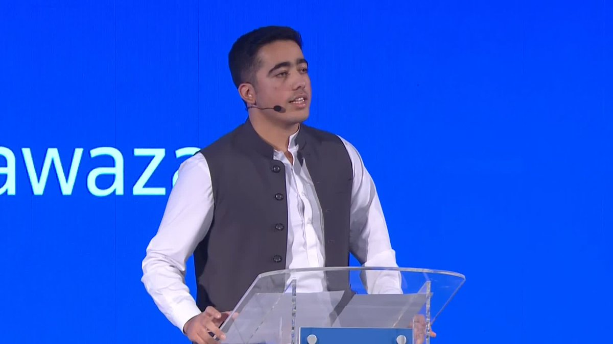 Our voices are what give us our power I use my voice for my brother, in the hope that no child will have to suffer from the same things that we did says @Ahmadnawazaps #TrustConf19