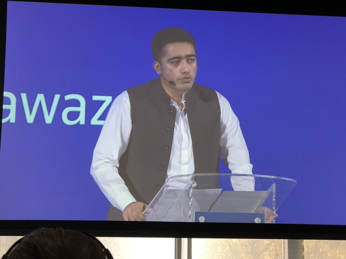 """""""I believe in this modern age our voices are what gives us power"""" Ahmad Nawaz tells #TrustConf19 after speaking out about radicalisation following the death of his brother and 150 friends in a terrorist attack on a Pakistan school in 2014"""