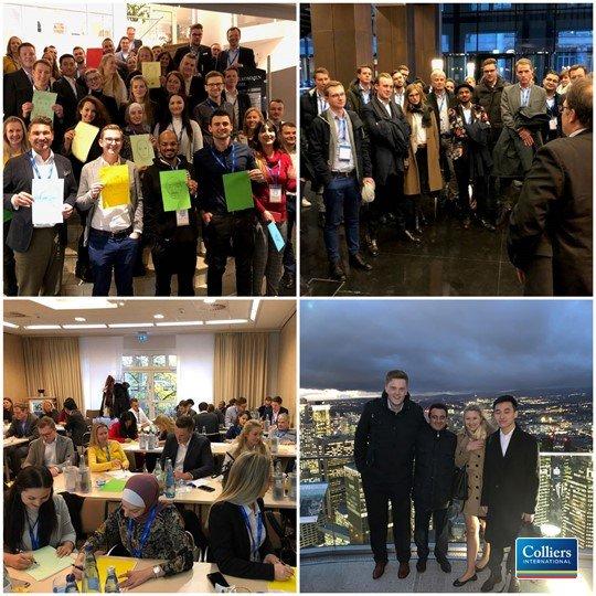 Bei unseren Startertagen begrüßen wir mehr als 40 neue KollegInnen. Neben Vorträgen und Workshops war ein Highlight der Exkurs mit Führung durch ein Frankfurter Hochhaus. Herzlich Willkommen bei Colliers!<br></noscript><br>Möchten auch Sie ein Teil von Colliers werden?   t.co/U6vFQiJXAf