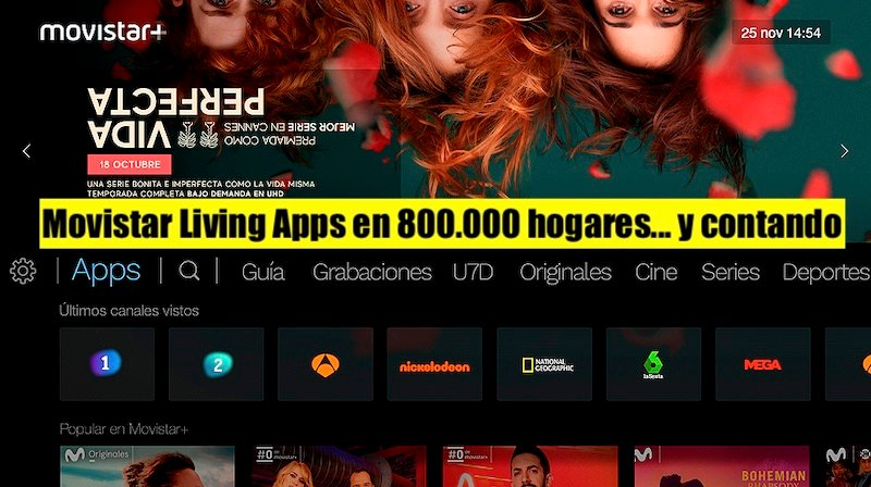 El lado del mal - Movistar Living Apps en 800.000 hogares... y contando  https://www.elladodelmal.com/2019/11/movistar-living-apps-en-800000-hogares.html  …  #Aura  #MovistarHome  #RueMovistar