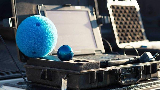 Découvrez la technologie SmartBall de @XylemFrance petite balle intégrant un hydrophone, des capteurs de température, de pression et électromagnétique...