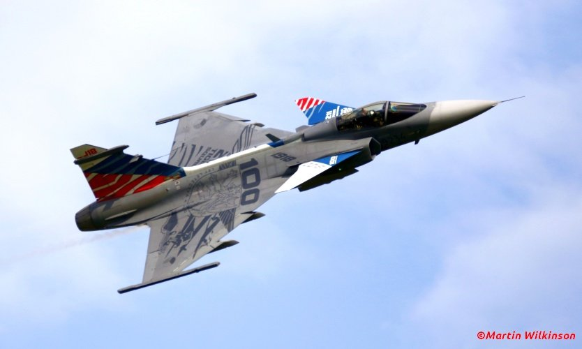 #potd from the MartinPhotos collection. Gripen http://bit.ly/2xnpev6  http://bit.ly/1mvbsot  #aviation #photography #avgeek