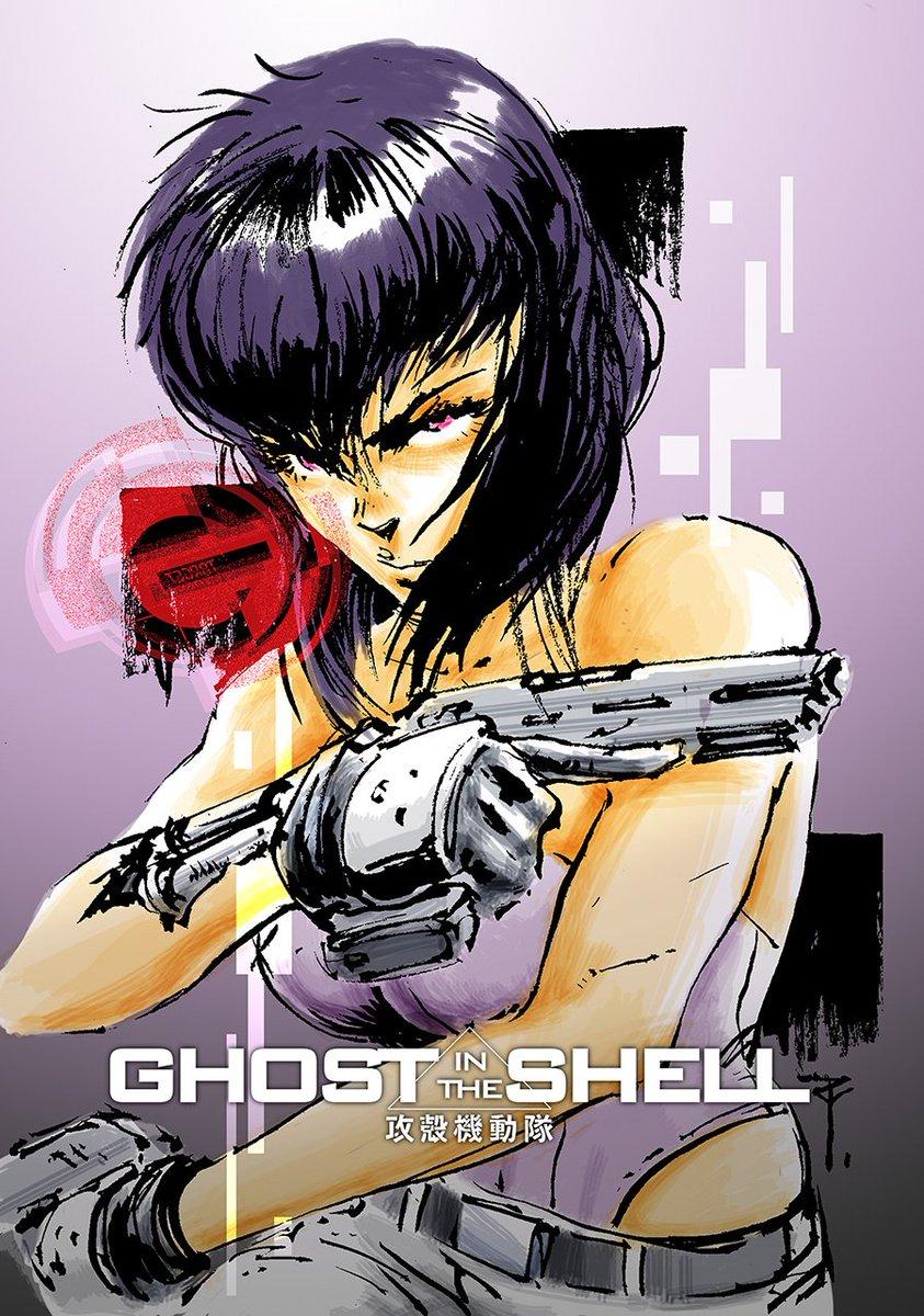 Artoftzu On Twitter Art Of The Day 205 Gits Major Kusanagi From Ghost In The Shell Fan Art Ghostinshell Ghostintheshell Majorkusanagi Shirowmasamune Https T Co E54ljgxtus