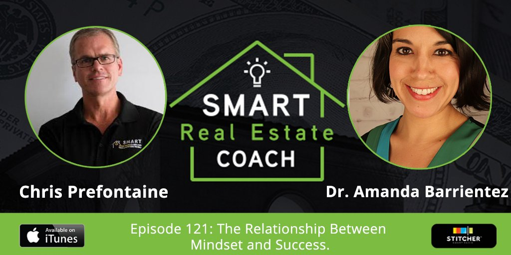 """In this episode of the Smart Real Estate Coach podcast, Dr. Amanda Barrientez shares her """"seven P's of profitability"""" and shares how to change your future by changing your mindset: bit.ly/2NmRdqK"""