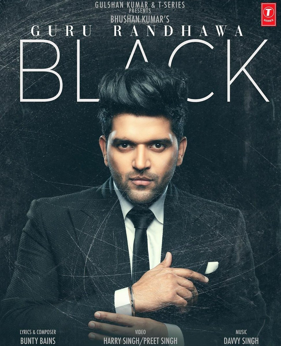 Can't wait for #black @GuruOfficial  This looks totally different..  Always excited for your new single..  All the best wishes.  Keep shinning and smiling..