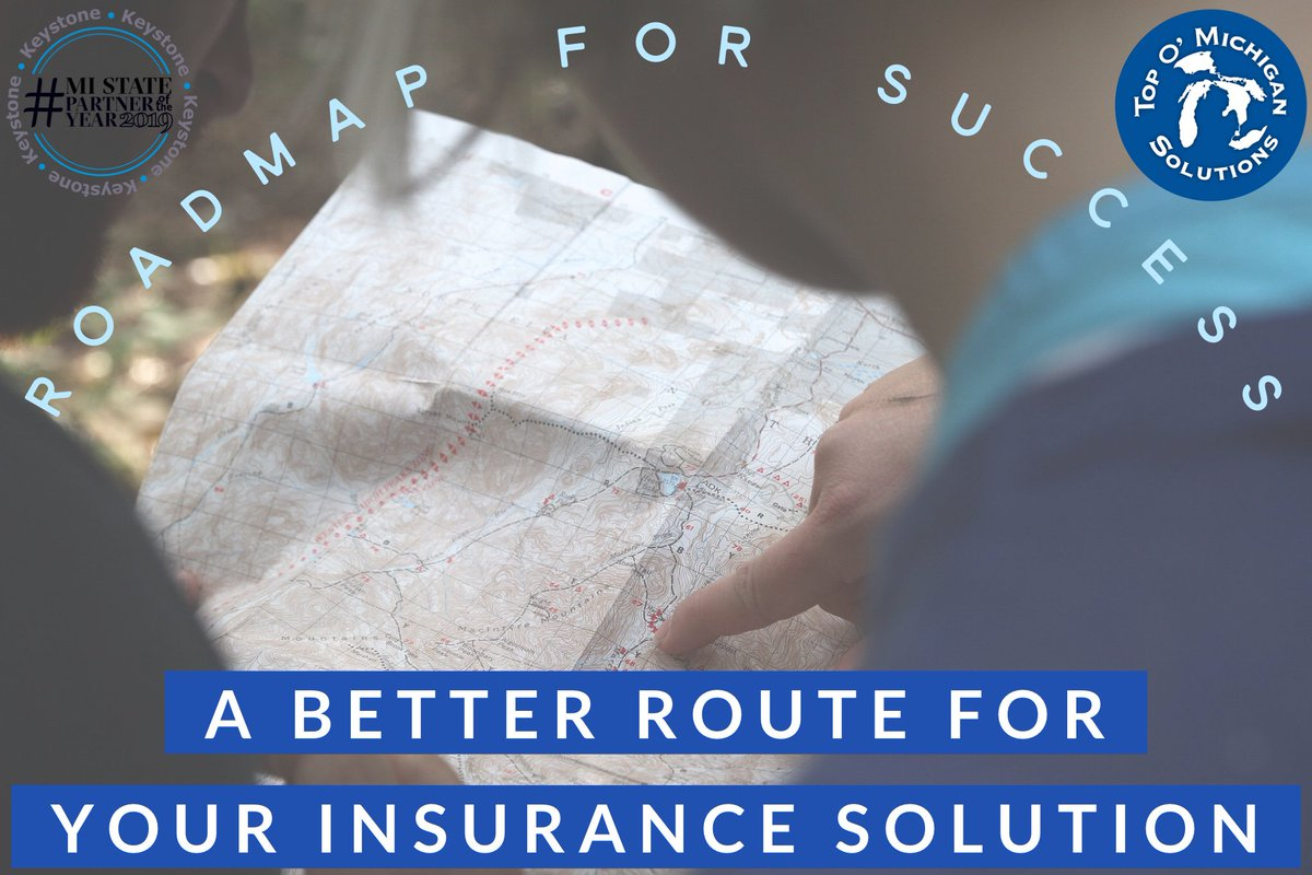 Does your current insurance have you feeling lost? Find a better roadmap for success with an insurance solution from Top O' Michigan. ✅🗺📈 Learn why thousands of individuals, families & businesses trust Top O' Michigan at https://t.co/CK61BL1ceD #Insurance #Solutions #Success https://t.co/9QeuScDYzx