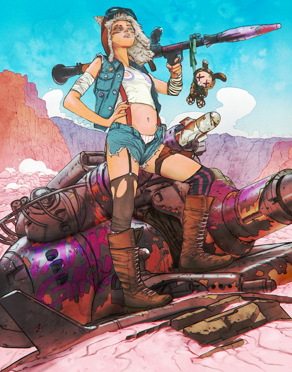 Nude tank girl picture