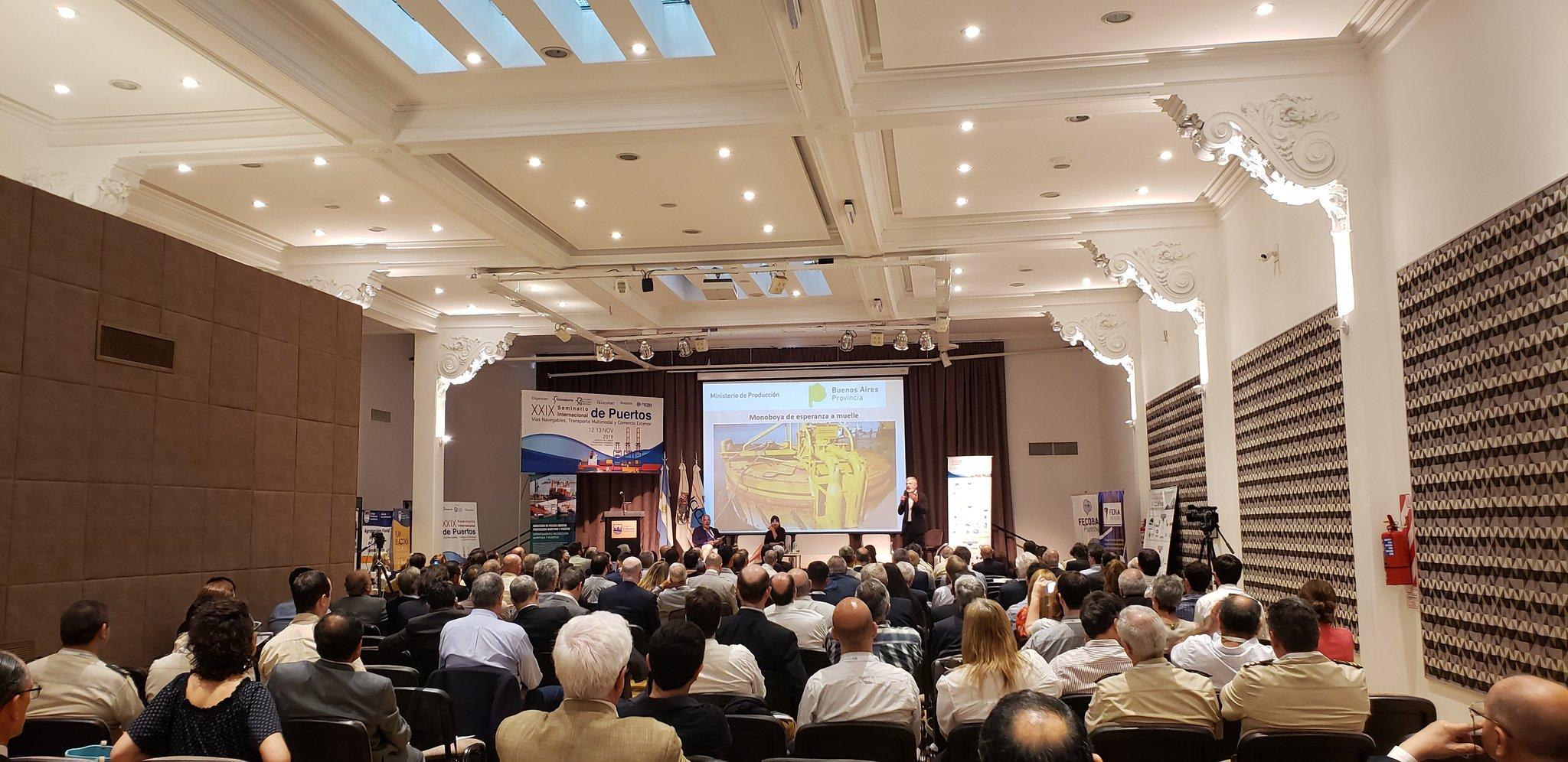 Actores del sector portuario y del transporte de la región se reunieron en el XXIX Seminario Internacional de Puertos, Vías Navegables, y Transporte Multimodal