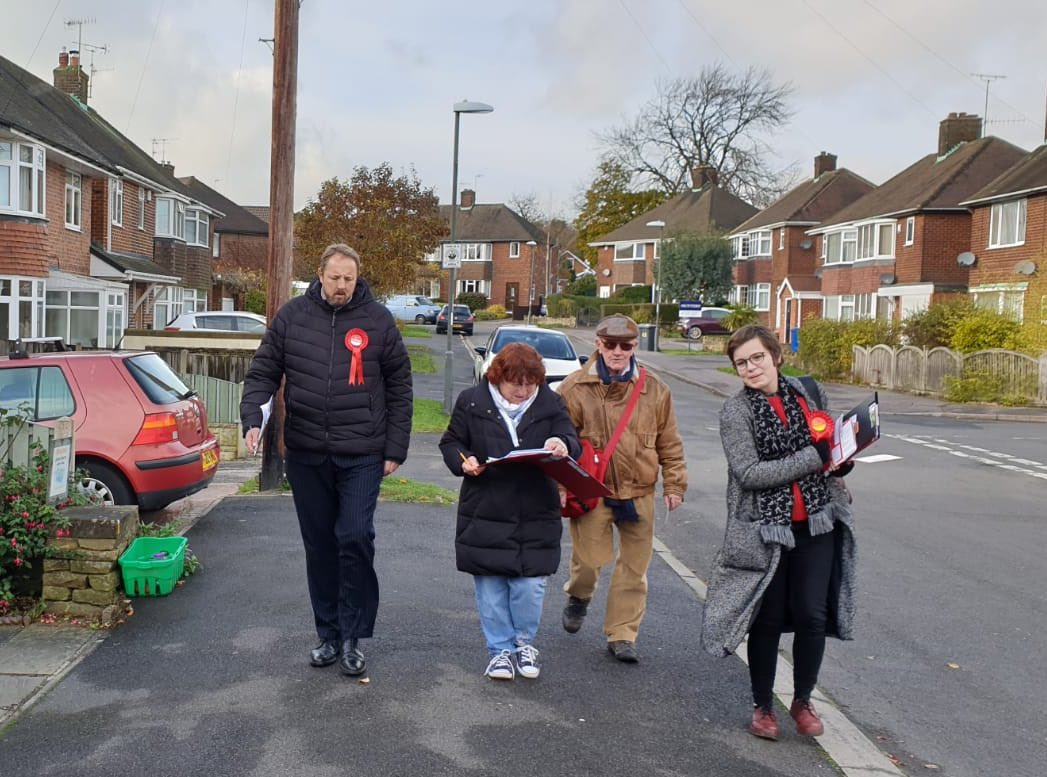 So who knows where I was on the #labourdoorstep this morning ?