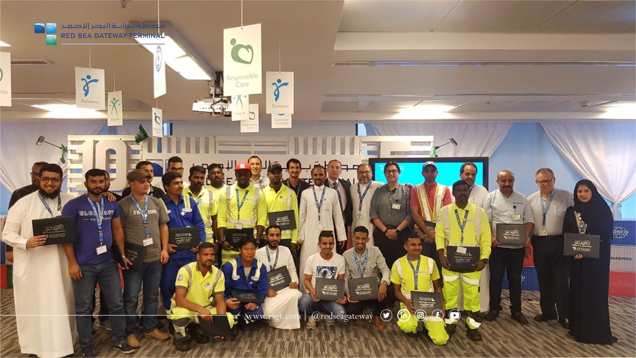 Red Sea Gateway Terminal On Twitter Congratulations To Rsgt Members Who Have Honored During Employee Of The Month Celebration We Wish Them All The Best And Continued Success Https T Co Zzwlc41a2e