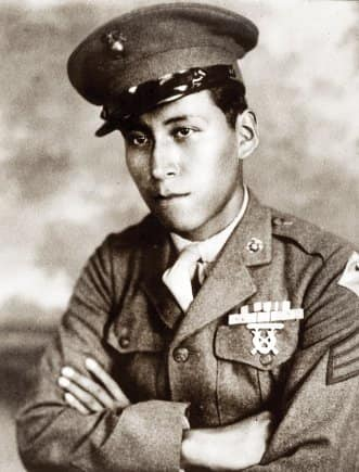 Cpl. Mitchell Red Cloud Jr. was awarded the #MOH for his heroic actions preventing enemy forces from overrunning his company's position and allowing time for evacuation of the wounded.   Read more:   #ArmyHistory #NativeAmericanHeritageMonth