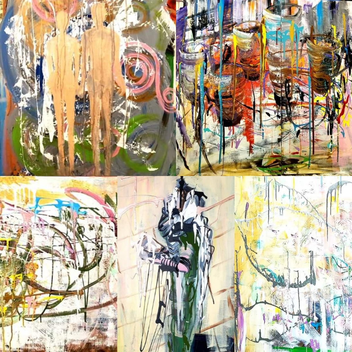really exciting #Exhibit I'll be significantly #featured during #ArtBasel Week  Art House MRKT- #Miami Wed, Dec 4, 2019, 1:00 PM – Sat, Dec 7, 2019, 8:00 PM EST 1201 NE 83rd Street Miami, #Florida  These #paintings will be #exhibited  #art #MiamiArtist #repost #artistsontwitter