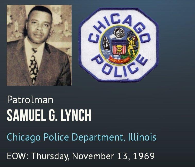 👮🏻♂️💙🚔 #ThisDayInHistory 🚔💙👮🏻♂️  #AlwaysRemember  #NeverForgotten #FallenHero #Chicago #CPD #ChicagoPolice #Officer #Samuel_G_Lynch #EOW Nov 13, 1969  @ChicagoPD19 @BFTFChicago @bftfnyc @BFTF_Dallas @ChicagoPD19 @Brotherhoodfwt2 @cpdmemorial @FOP7Chicago