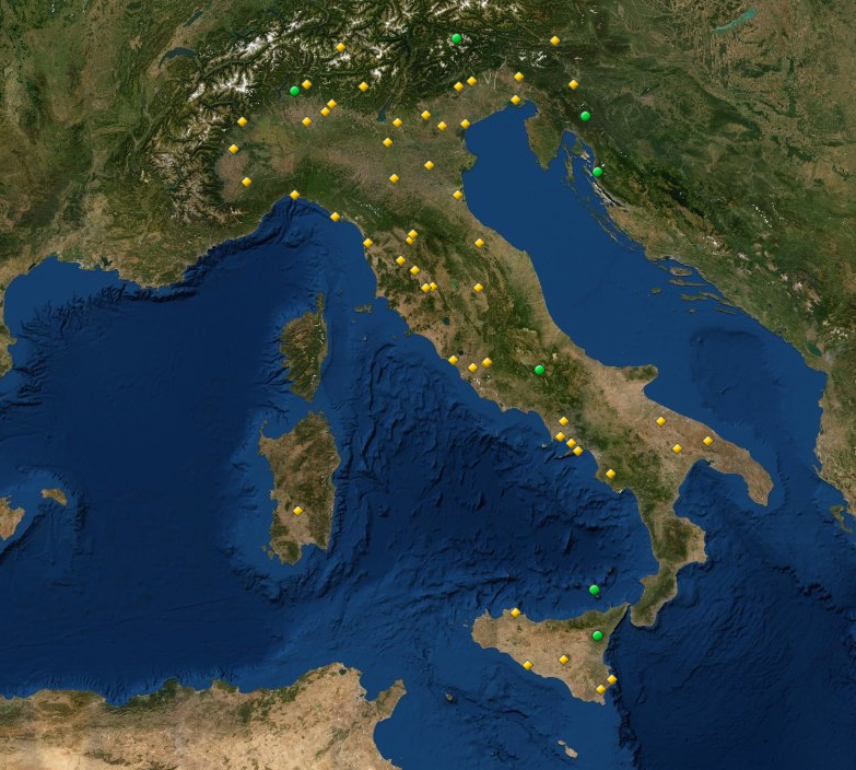 Italy is home to 55 UNESCO World Heritage Sites, the most of any country! Which ones have you visited? #osdia