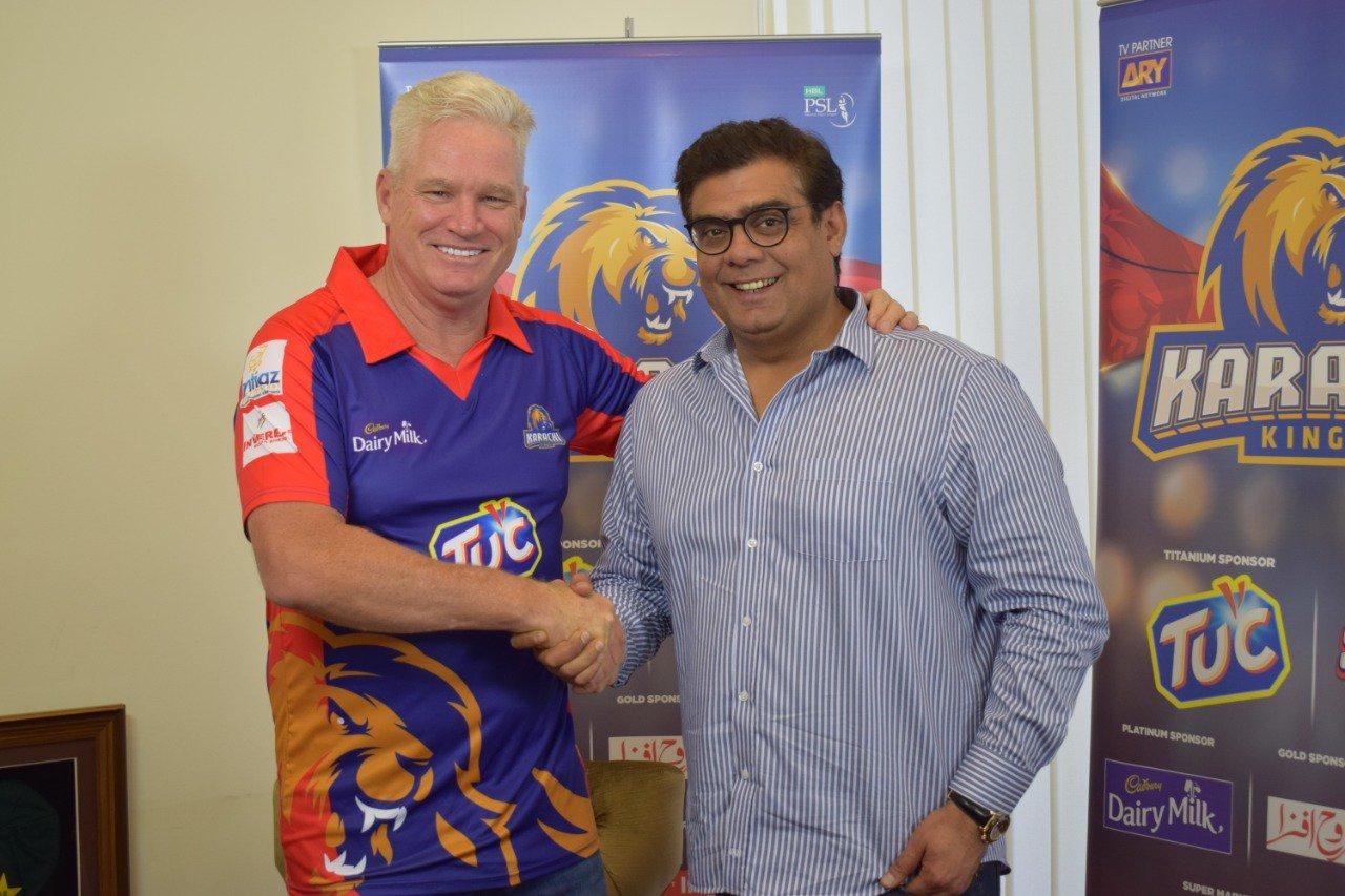 Dean Jones announced as new Head Coach for Karachi Kings