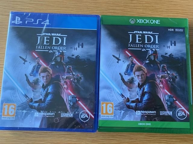#Competition You could win #StarWarsJediFallenOrder To enter just FOLLOW + RT this post + let us know which format #PS4 or #Xbox     #Comp #Giveaway #Win #CompetitionTime #OfferGames #Gaming #StarWars  @EAStarWars  http://www. offergames.co.uk    <br>http://pic.twitter.com/JyOV9o2gKp