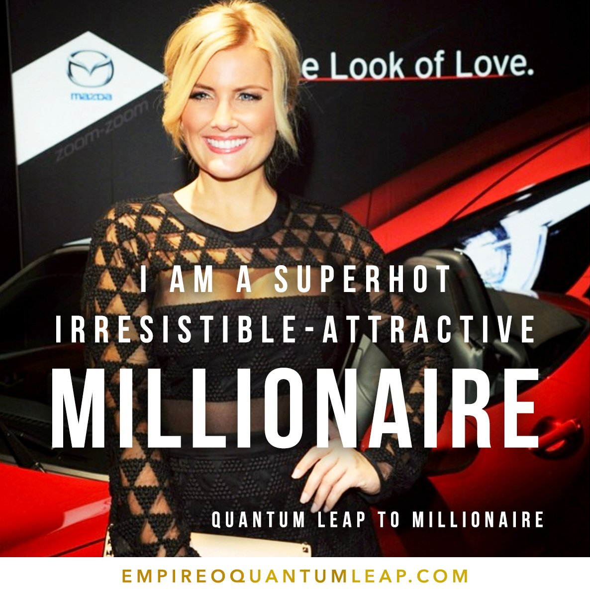 """I am a SUPERHOT ATTRACTIVE MILLIONAIRE. 😎🏎️🔝👊🔥😍🏁  """"QUANTUM LEAP TO MILLIONAIRE""""💰💎 ▶️ I want to know more about the program https://t.co/zfXarpi339 https://t.co/WrHVPEfBB9"""