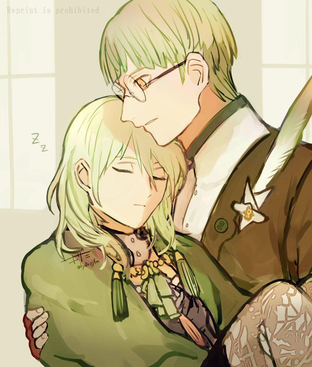お疲れの先生にマント羽織らせて姫抱きして寝室まで運んでくれるイグレス
