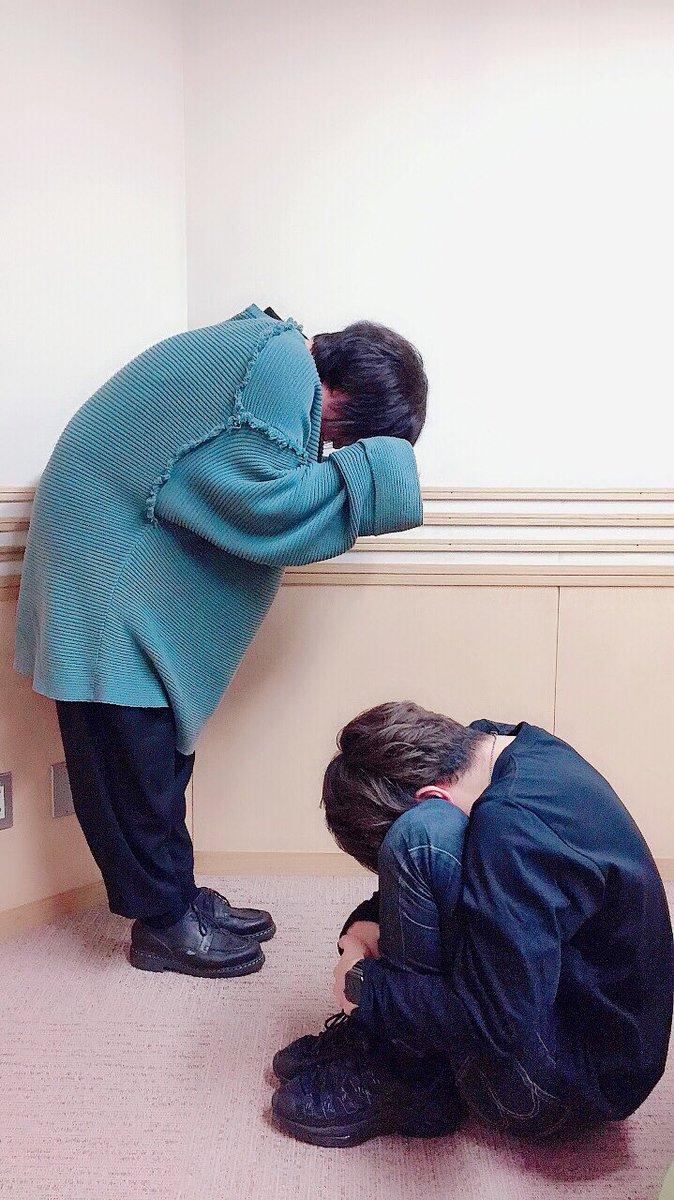 本日の写真は番組内で盛り上がった●●●●●●と●を表現!ヒント斉藤さん #体全体で表してますね最高です #美味しくパッケージされてます石川さん #そのコンパクトさ最高です #どうして今日に限って白Tじゃなかったのか涙来週のダメラジもお楽しみに!#おやすみなさい #ダメラジ #agqr