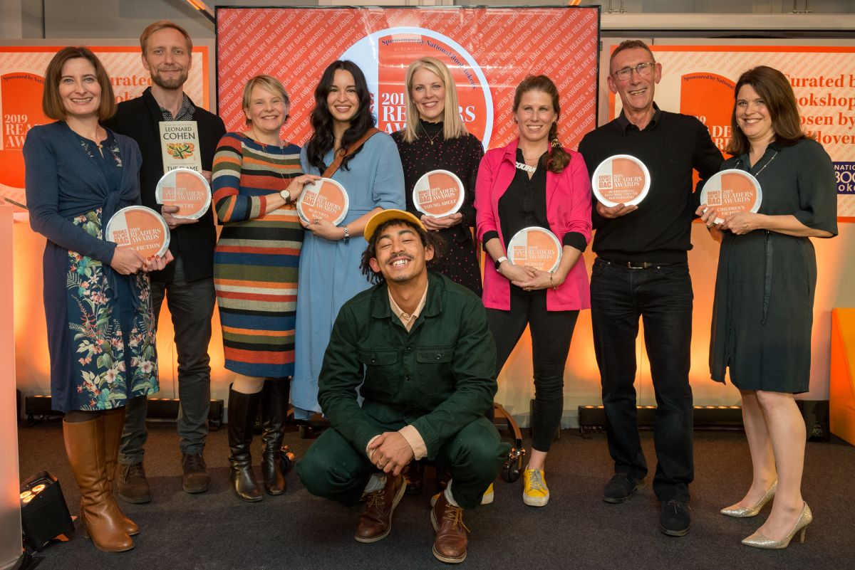 With more than 40k votes cast in total across all categories, this year saw female authors take home seven of the eight @booksaremybag readers awards: