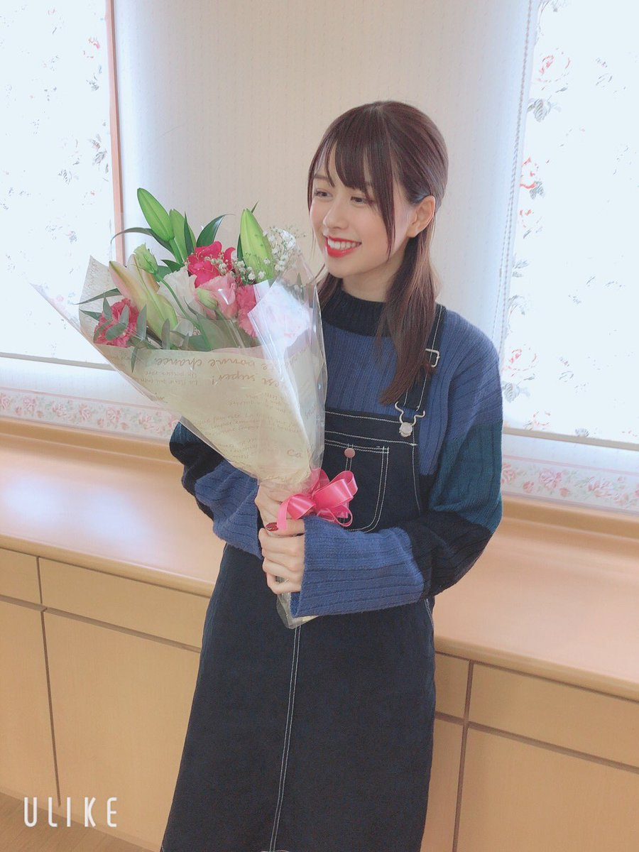 ほのぴーちゃん18歳おめでとう㊗️🎊㊗️大人じゃん!!!!いつも優しくて朗らかなほのぴー!努力家でいつもたけやまのこと支えてくれて本当に感謝です!!18歳の思い出も沢山つくっていこー!!#脇田穂乃香#大人の階段のぼる