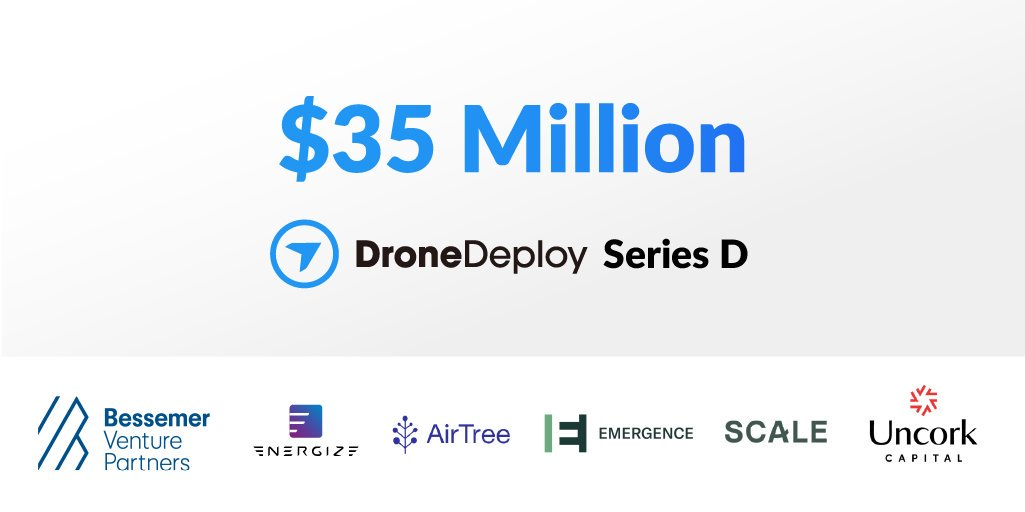 test Twitter Media - Big week for DroneDeploy! We closed our latest $35M Series D round led by Bessemer Venture Partners, and have two new board members joining, @davidcowan and @Tracy_Young. We're excited by the momentum and can't wait to share more news with you. https://t.co/PHabLI8UXI https://t.co/Dhogf9cPgw