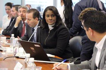 La fiscal general del Estado, Diana Salazar comparece ante la Comisión Multipartidista de Asamblea Ecuador para informar sobre los hechos que investiga Fiscalía, relacionados al paro nacional, ocurrido del 3 al 13 de octubre de 2019